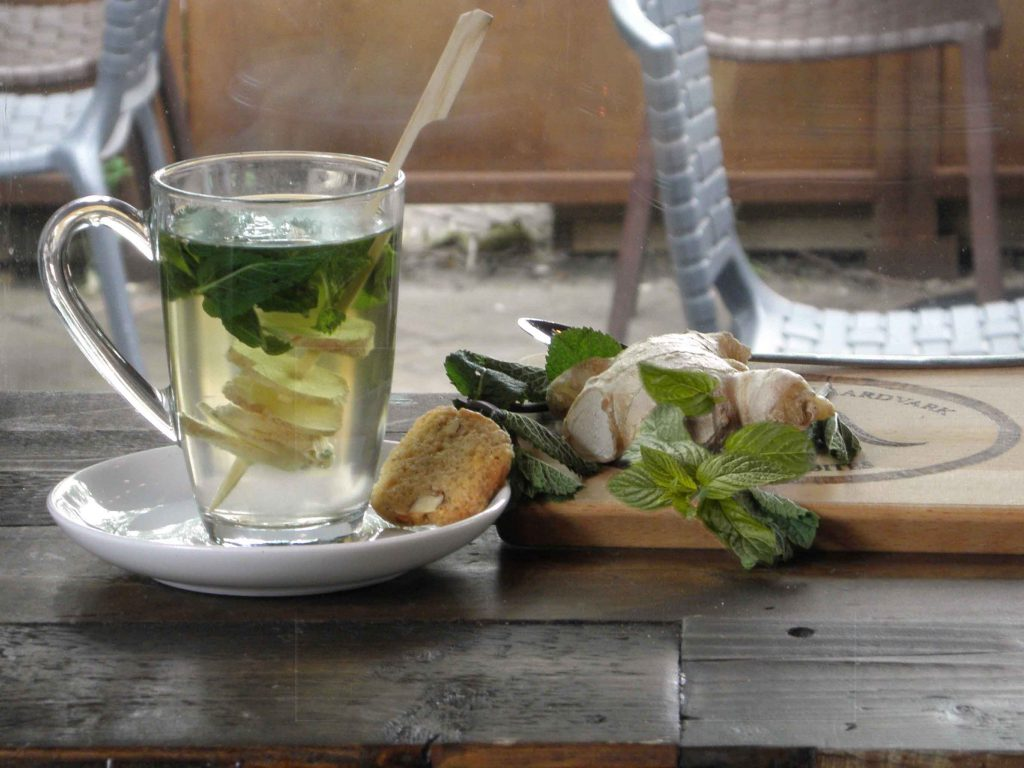 visual content foodstyling Studio NRG Blue- thee ginger gember